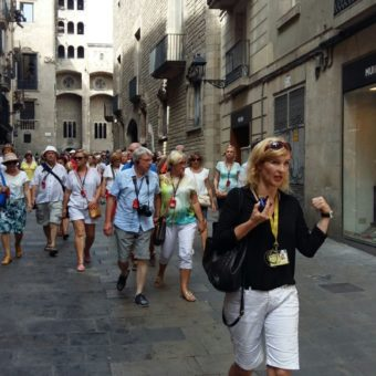 Barcelona z przewodnikiem Dominiką Berger