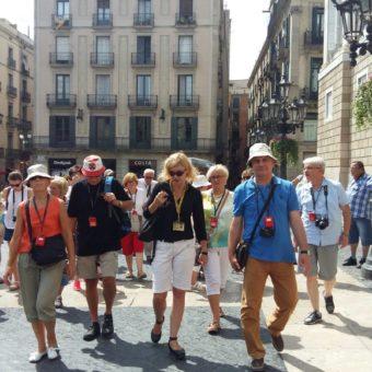 Wycieczka w Barcelonie z przewodnikiem Dominiką Berger