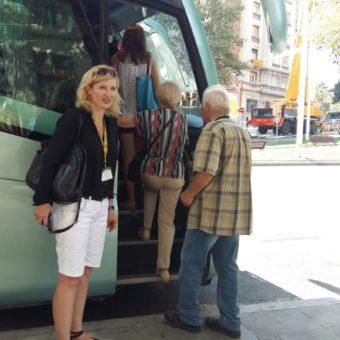 Przewodnik Dominika Berger oprowadza po Barcelonie